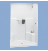 "34836 Shula 48"" One Piece Shower with One Seat"